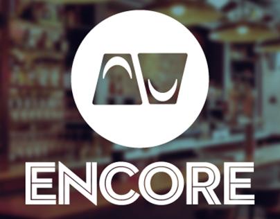 Encore Restaurant and Bar Identity System