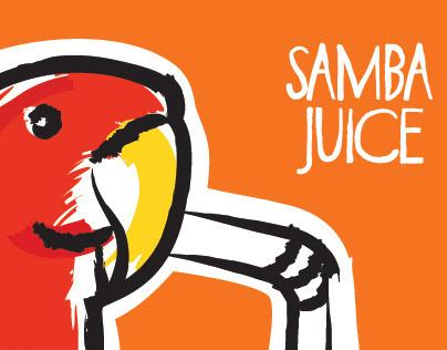 Branding   Samba Juice