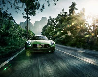 AMG GT-R by Steffen Jahn