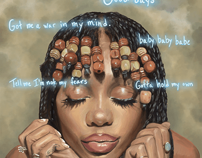 SZA - Good Days - by Teresa McDougal Art