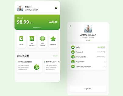 Payment and recharge app