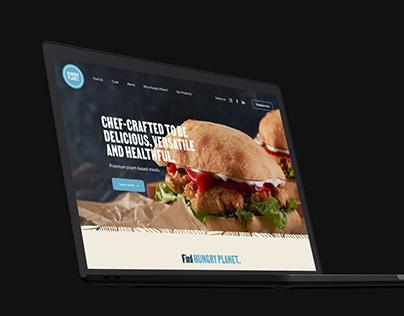 Hungry Planet Website UI/UX Design