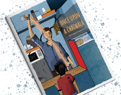 Once Upon a Chaiwala - Cover Illustration