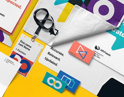 HR Feeds Brand Identity Design.