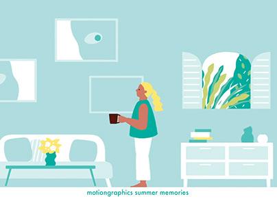 motiongraphics summer memories