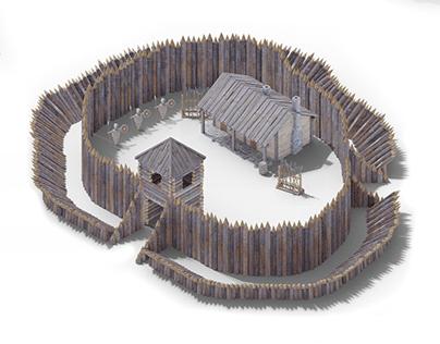 Medieval Buildings Sprite Set