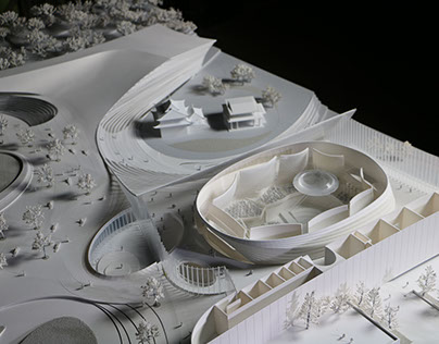 Xiamen Music Center Design Competition
