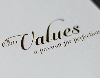 Domino – Our Values, A Passion For Perfection