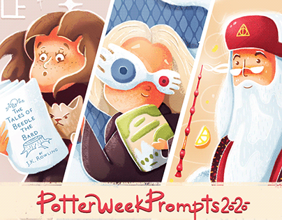Challenge Potter Week Prompts 2020