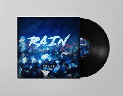 KOSHL - Rain Album Cover Art designer