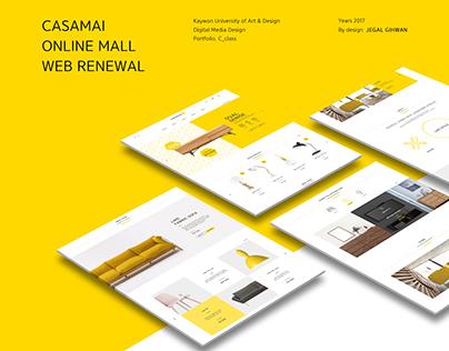 CASAMIA ONLINE WEB SITE RENEWAL