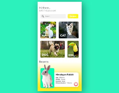 Pet kennel App Animation