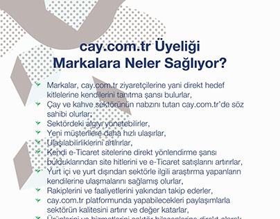 cay.com.tr Broşür