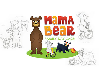 Mama Bear Family Day Care Logo