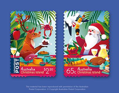 Australia Post Christmas Island Christmas 2019 Stamps