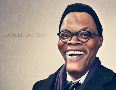 Samuel Jacson / Art / Illustration / Retouch