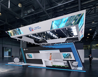 Complex Exhibition Stand for Almaz-Antey Corporation