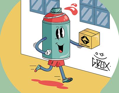 Graffitibox Ad