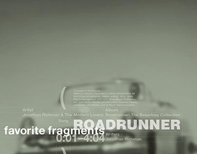 roadrunner / favorite fragments