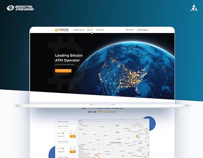 Digital Cash To Go - Website Design
