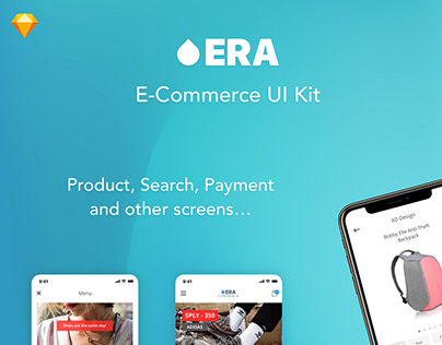 Era Mobile E-Commerce App UI Kit