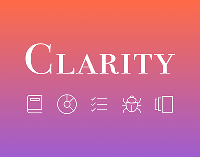 """Project management tool """"Clarity"""""""