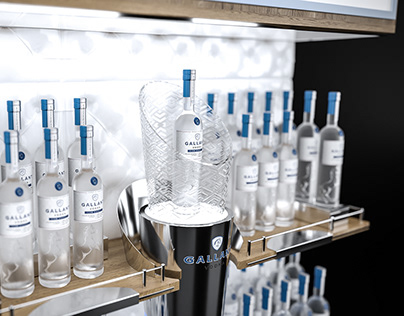 Design posm Galant vodka