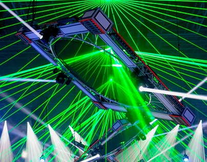 Product photos: Qlimax Gelredome lights setting