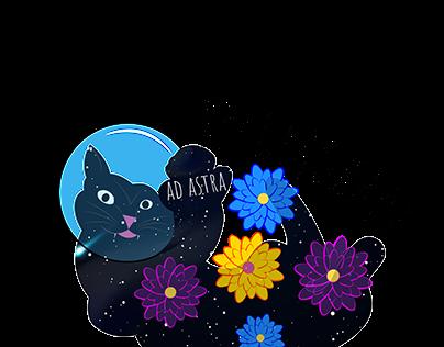 Emoji for Cosmonautics Day