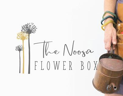 Logo Branding design suite- Noosa Flower Box 2020