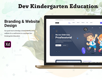 Dev Kindergarten Education Template Free Download