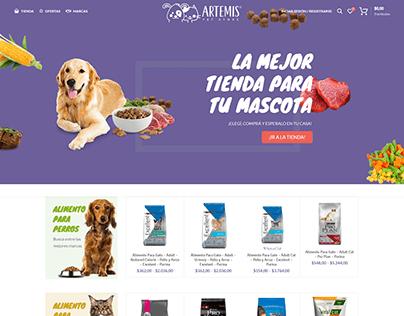 Pet Store. E-commerce, Argentina.