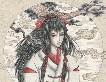 Tsuruhane: Crane Feather - graphic novel