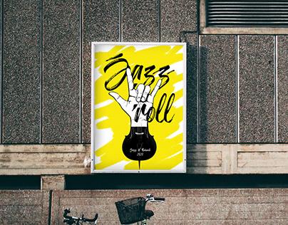 Jazz W Ruinach - Poster Exhibition 2020