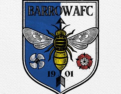 a retro retake for Barrow AFC