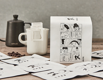 永璞 | Awakening drip coffee pod, Package Design