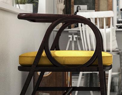 GERBANG - Lounge Chair