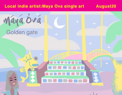 Local indie artist: Maya Ova sigle art