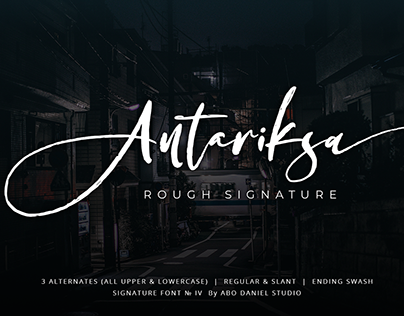 Antariksa -Futuristic Signature-