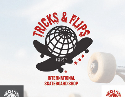 Tricks and Flips Logo
