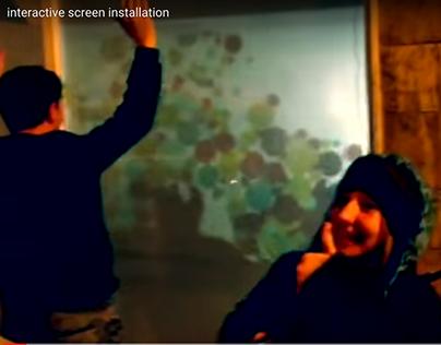 Etkileşimli Ekran Tasarımı