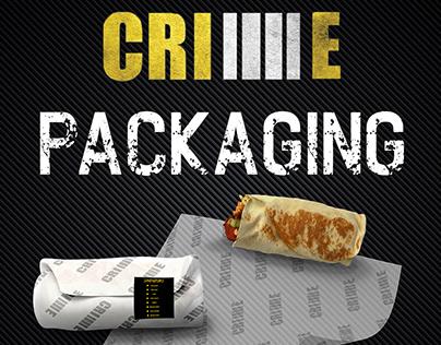 Crime Restaurant | packaging