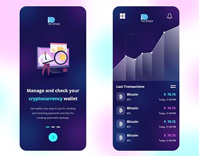 trading UI / UX Design
