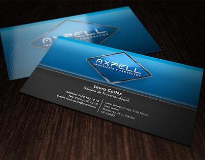 Axpell - Logo y papelería