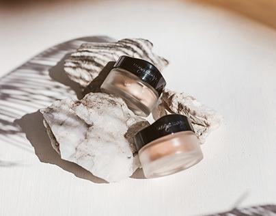 Loose Make-up Powder Package Design