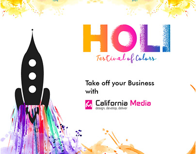 Take your business to new heights... HAPPY HOLI