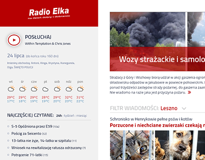 elka.pl re-design