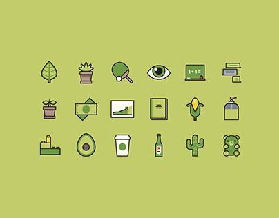 Avocado –a series for to [icon]