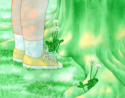 Picturebook Illustration (느티나무가 속삭인 말)