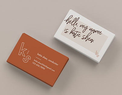 Katie Shea Business Cards